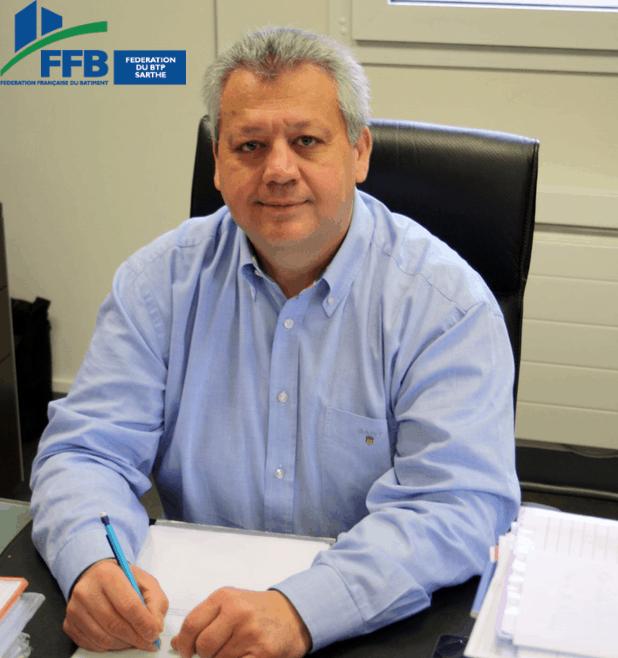 Dominique-André Moutiers : Président de la FFB Sarthe
